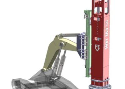 Rapid Impact Compacting machine