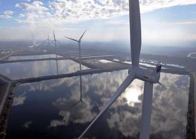 Windturbinefundatie